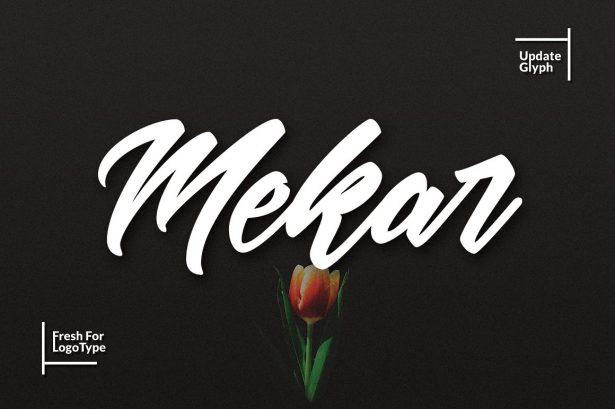 01 - Mekar Script Font