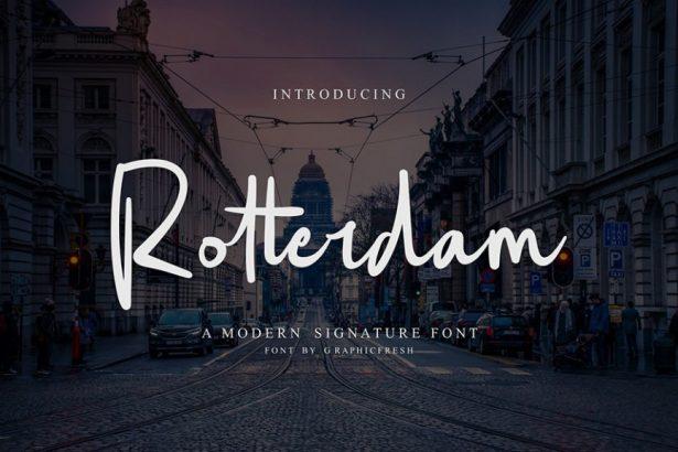 01 - Rotterdam Script Free Demo