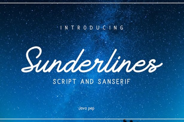 01 - Sunderline Script Free Demo