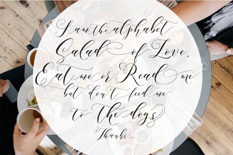 03 - Aidan Romantic Script Font