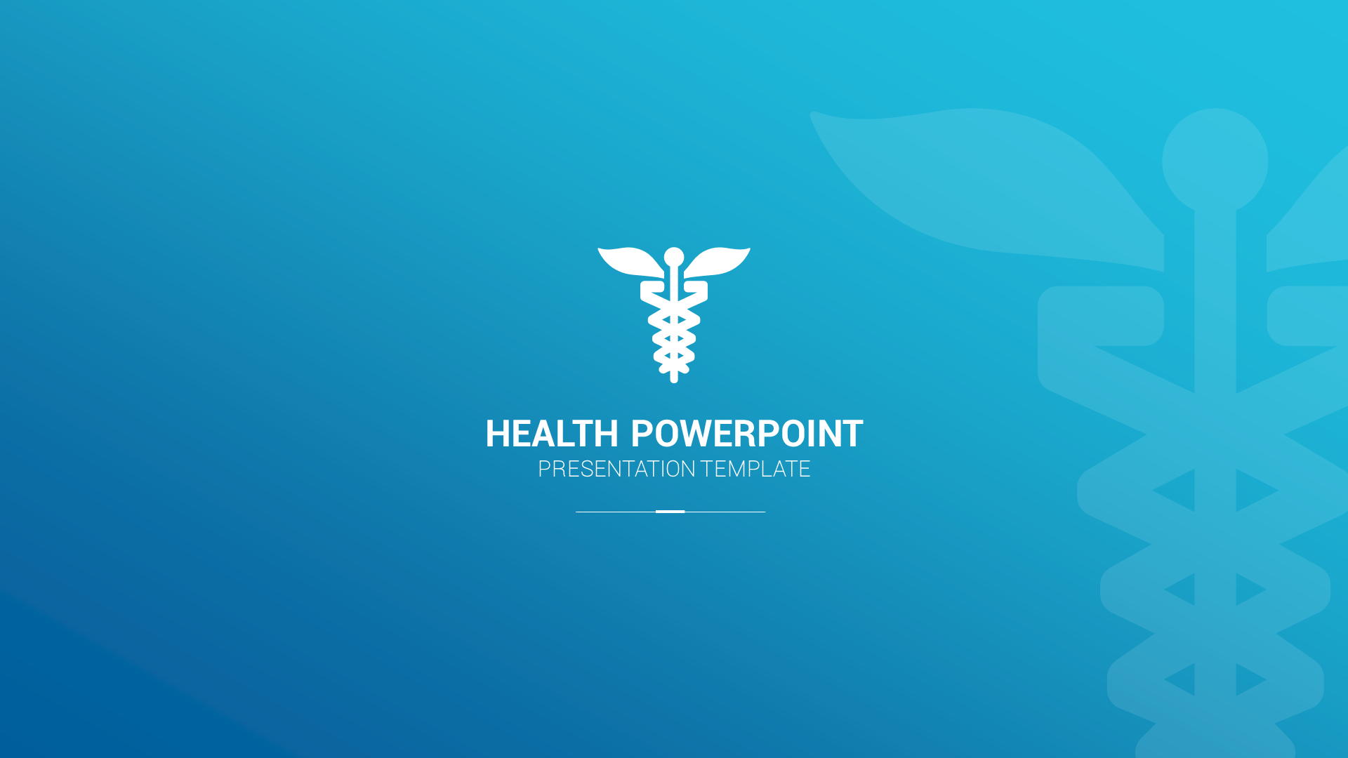 1. Health PowerPoint Presentation Template