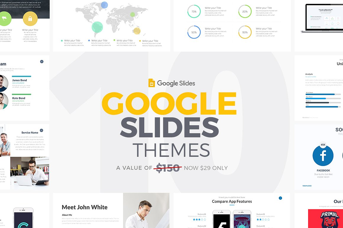 10 Google Slides Themes