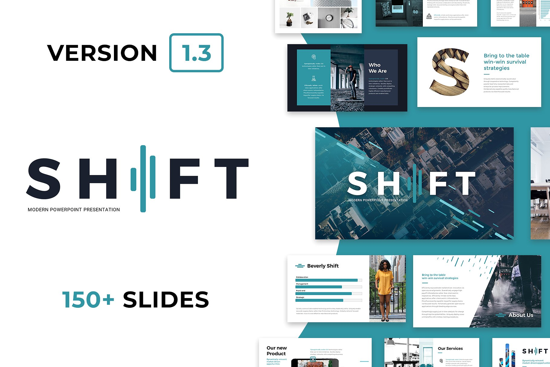 10 - Shift Modern PowerPoint Template