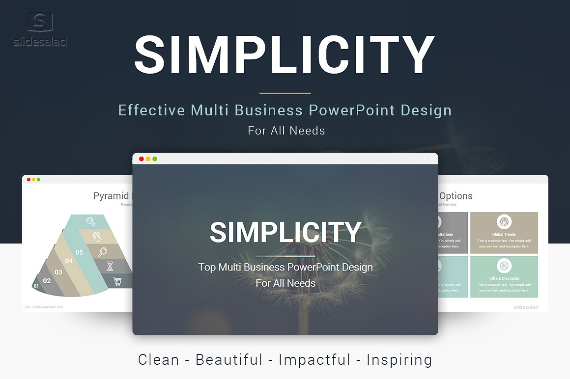 11 - Simplicity PowerPoint Template