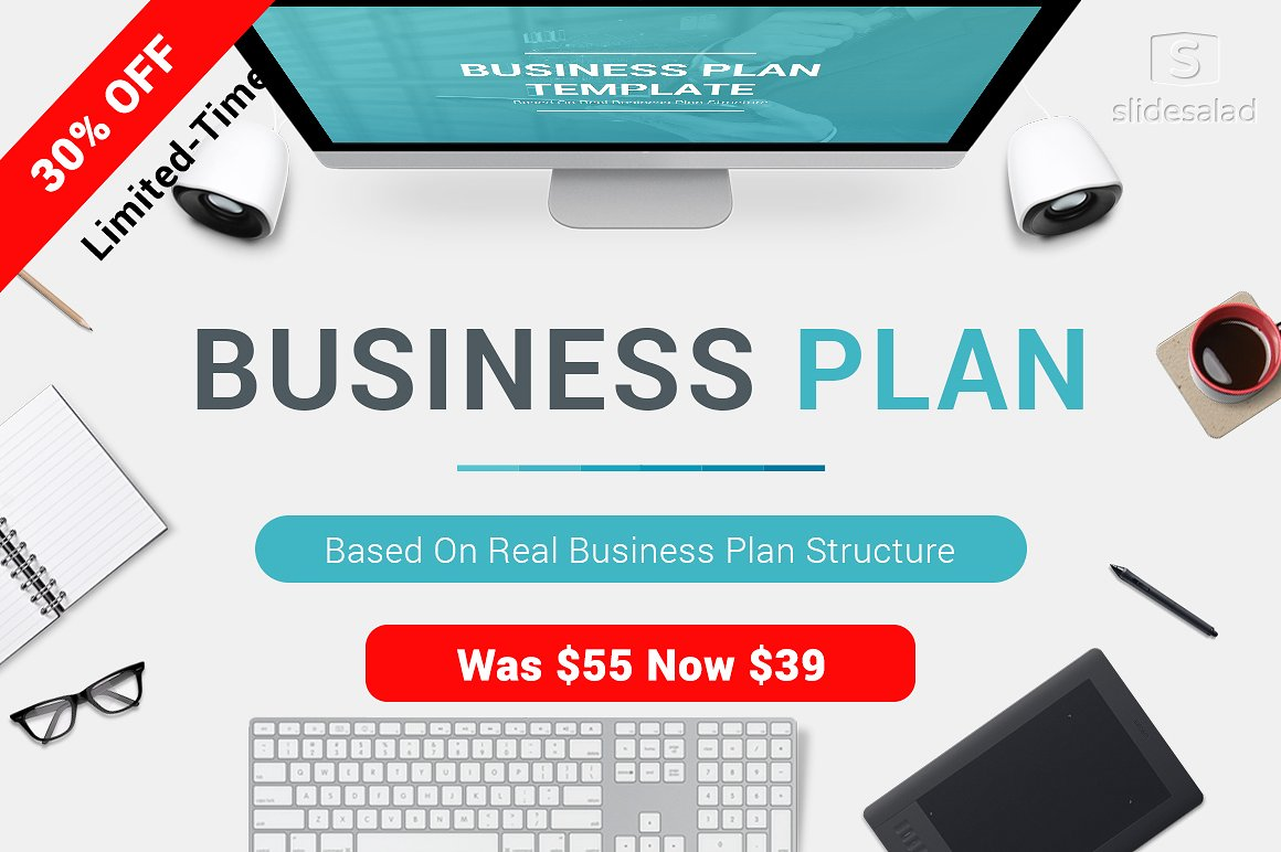 12 - 30% OFF - Business Plan PowerPoint