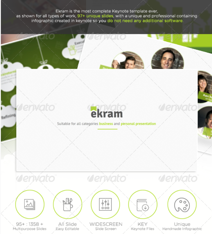 14 - Ekram The Most Complete Keynote Template