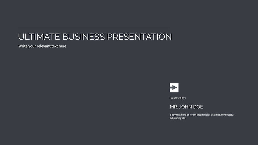 16 - Multipurpose Keynote Presentation Vol 07