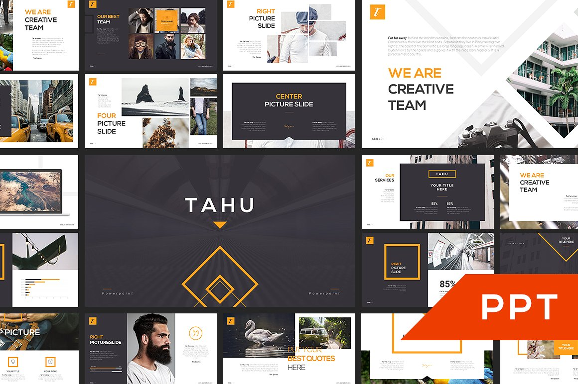 17 - TAHU PowerPoint Template