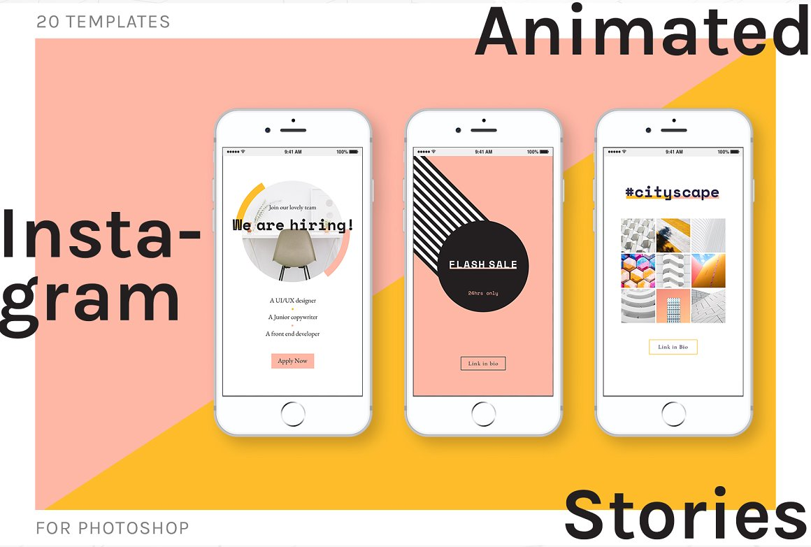 17. Animated Instagram Stories