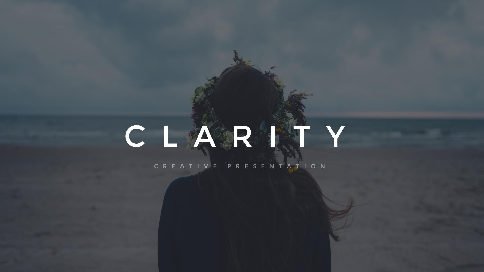 18 - Clarity Keynote Presentation
