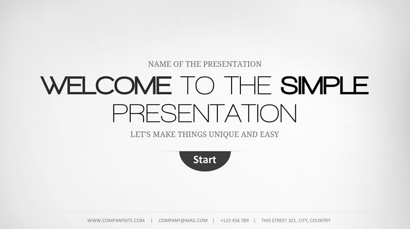 19 - Minimal Keynote Template