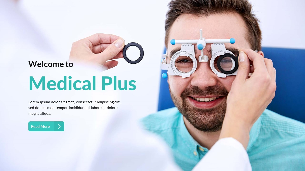 19. Medical Plus PowerPoint Template