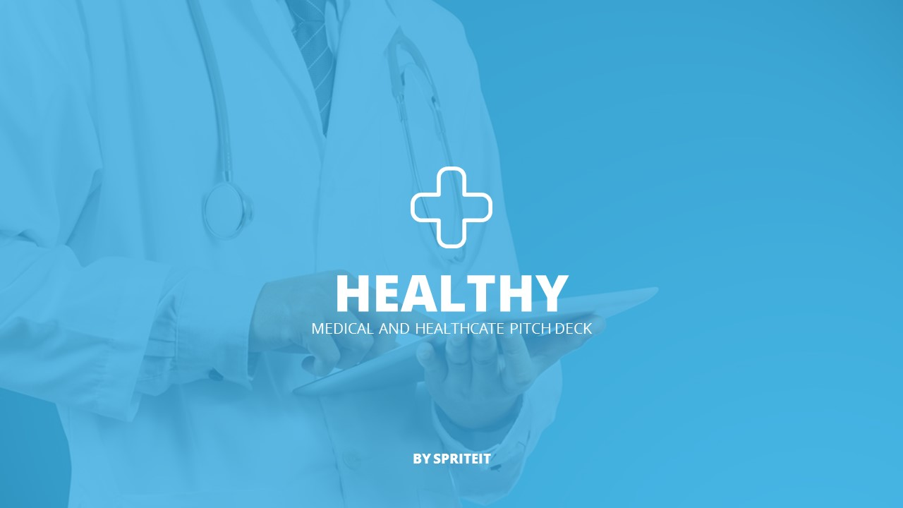 20. Healthy - Medical and Healthcare Pitch Deck