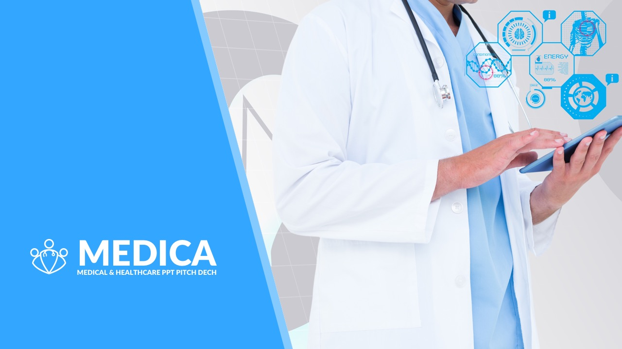 21. Medica - Medical and Healthcare PPT Pitch Deck
