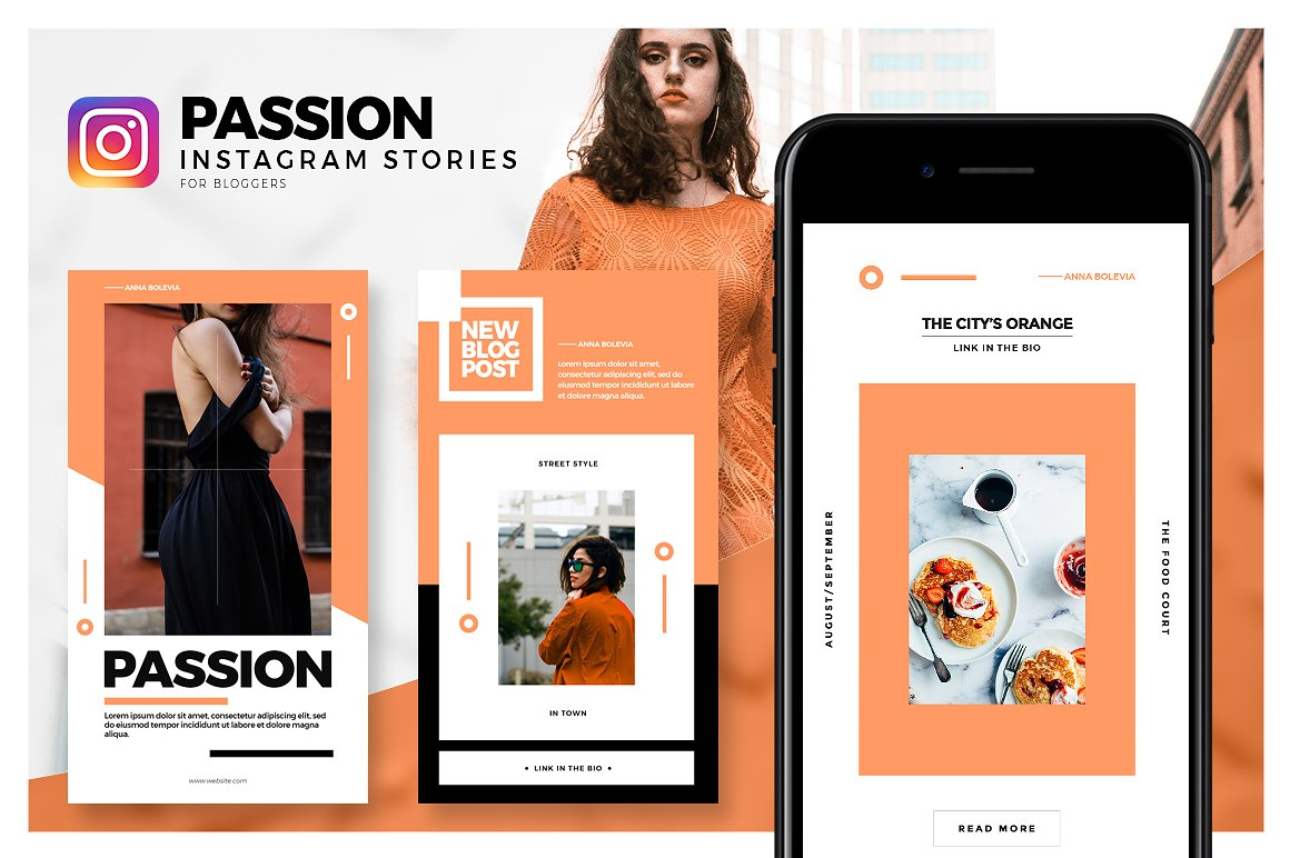 21. Passion - Instagram Stories Pack