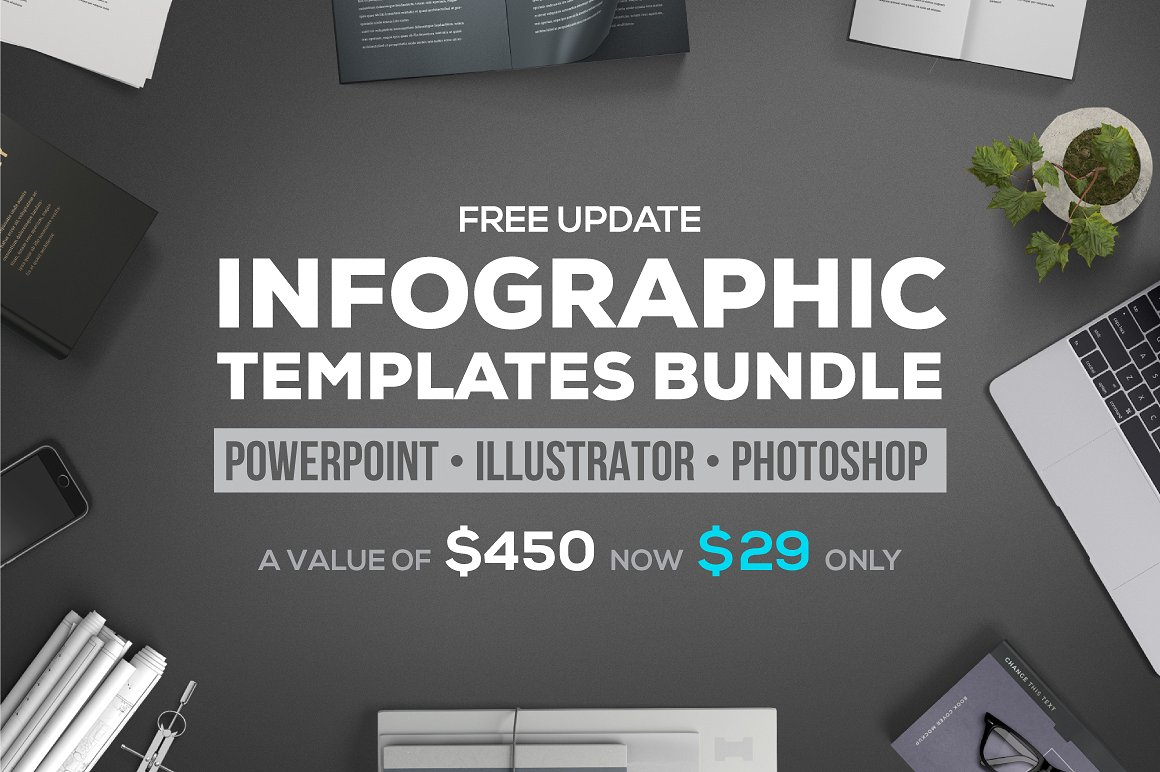 25 - PPT Infographic Elements Bundle