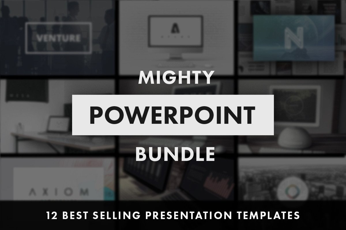 26 - Mighty PowerPoint Bundle