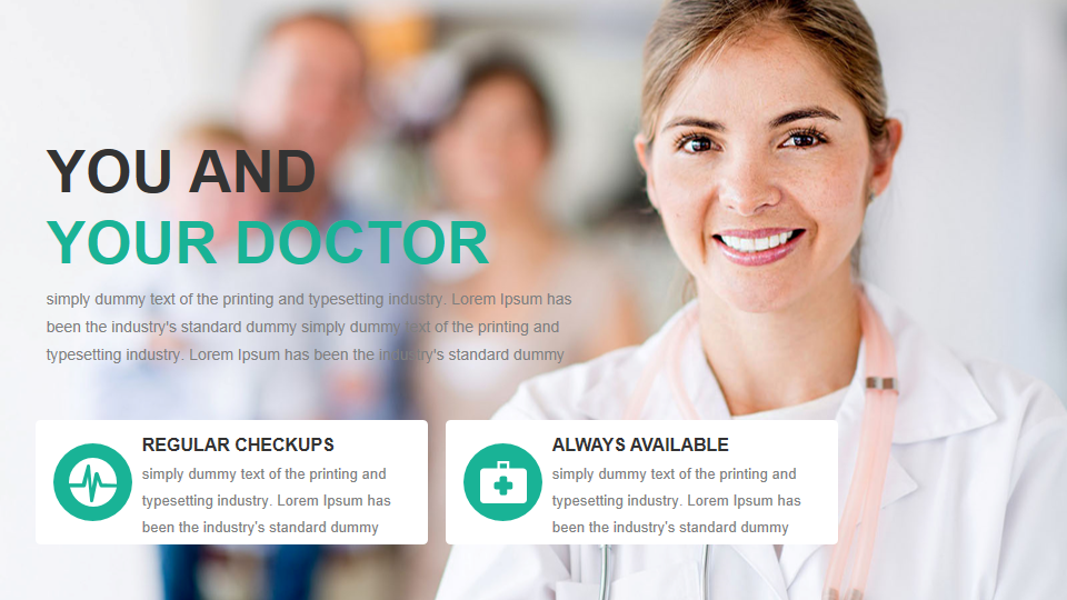 3. Medical and Healthcare PowerPoint Template