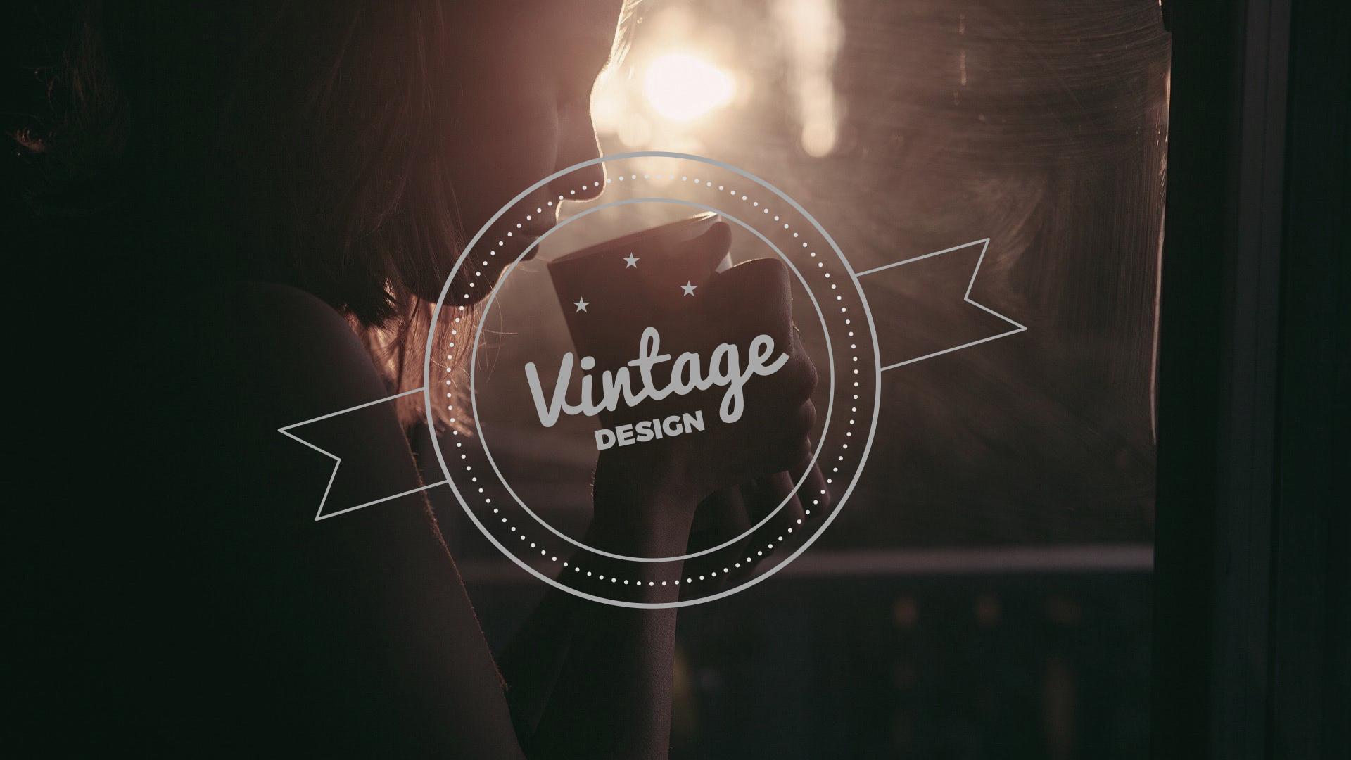 35 - Vintage Keynote Presentation