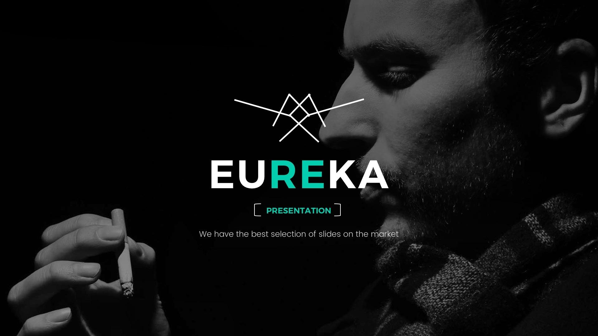 4 - Eureka Minimal Keynote Template