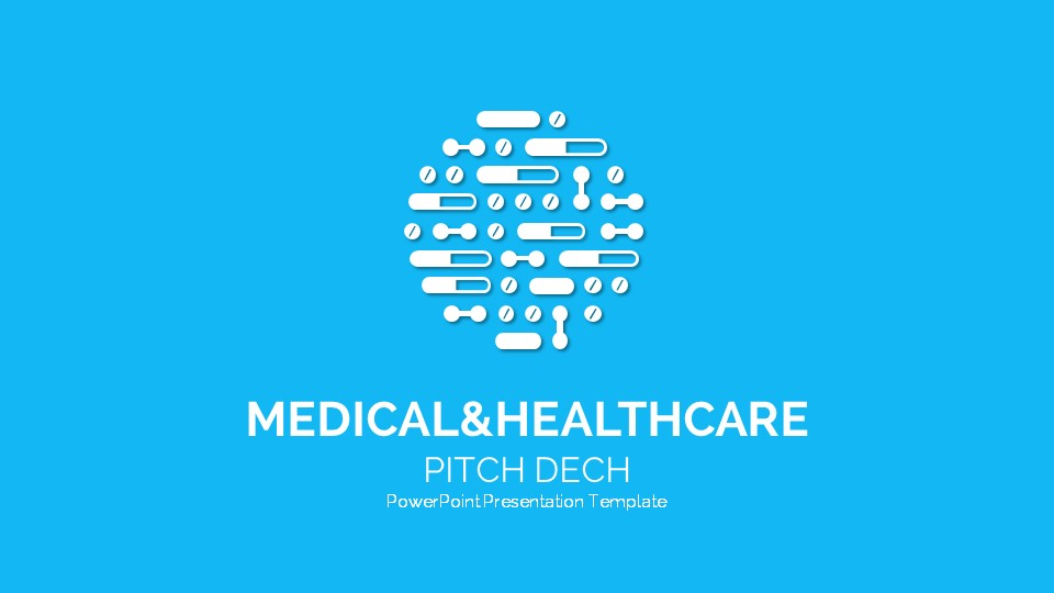 4. Medical and Healthcare Pitch Deck Template 4Startups