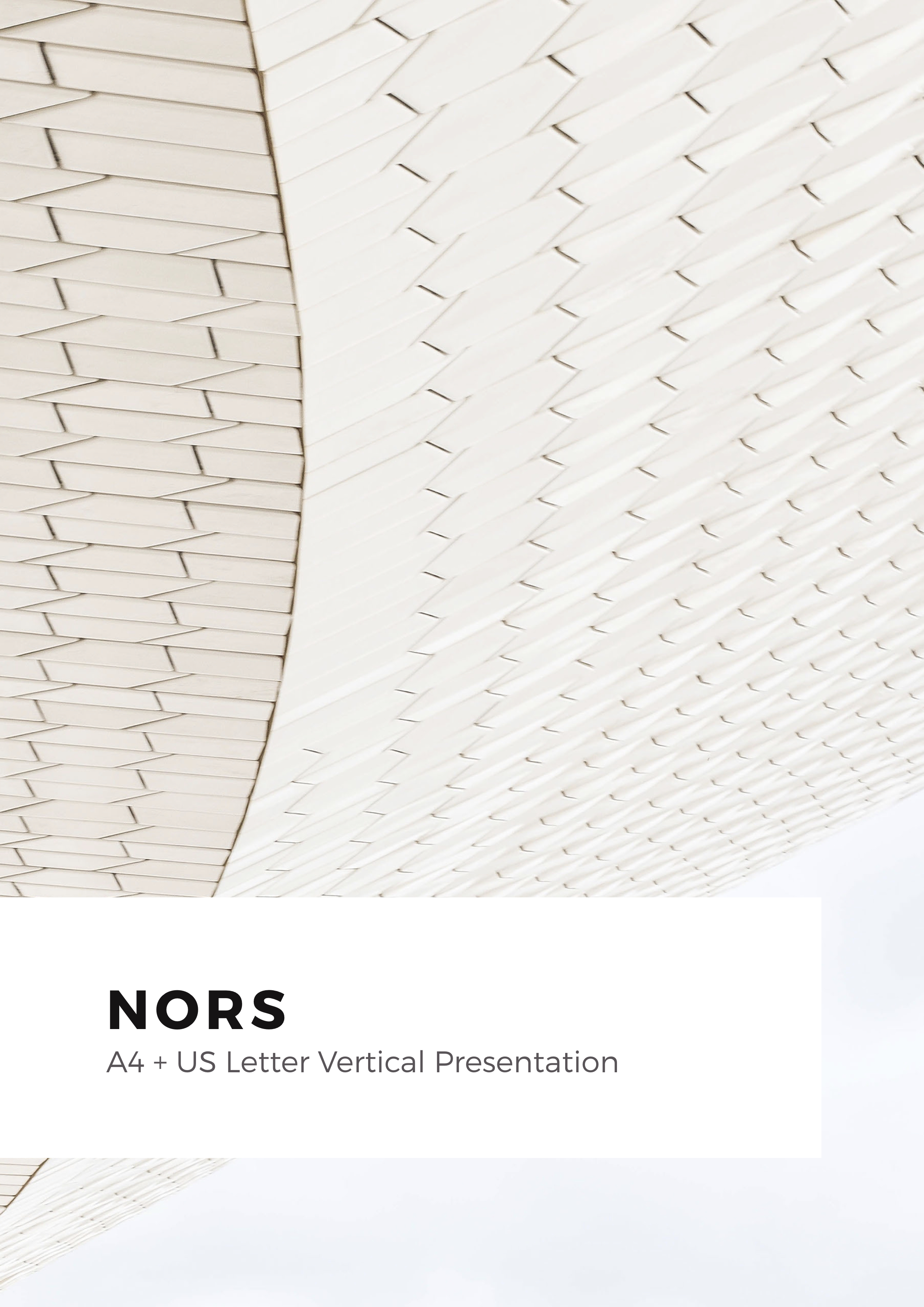 46 - Nors A4 US Letter Vertical Keynote Template