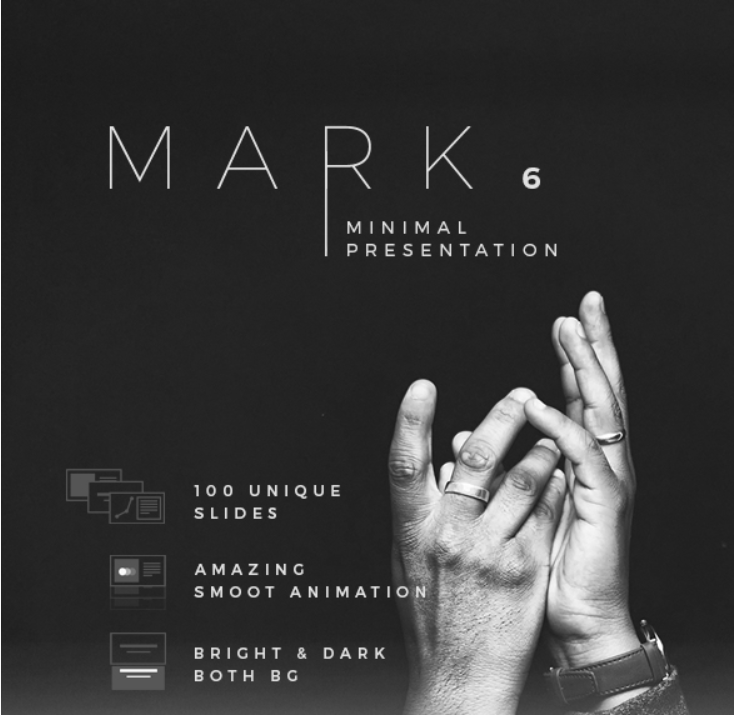 48 - Mark06 - Minimal Keynote Template