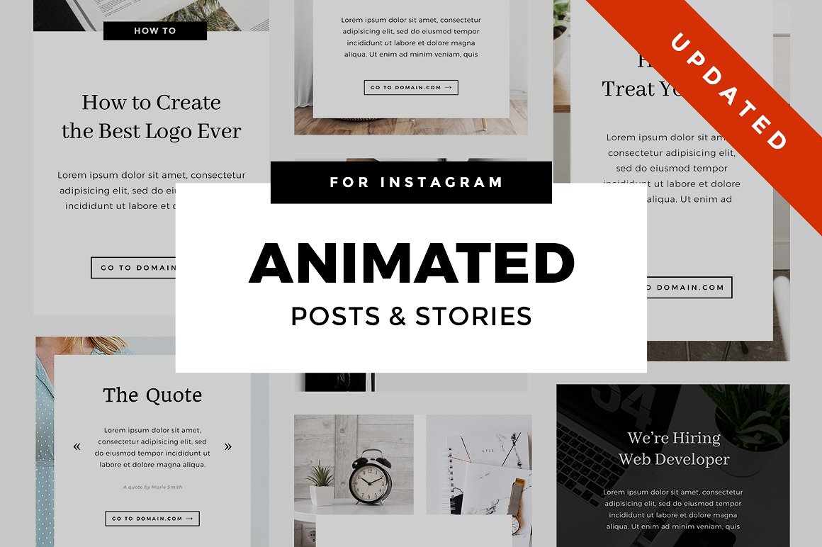 51. Animated Instagram Stories & Posts