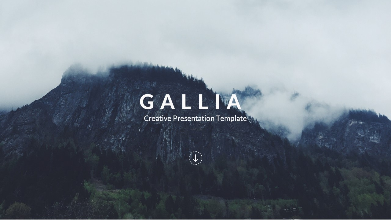 52 - Gallia - Creative Google Slide Template