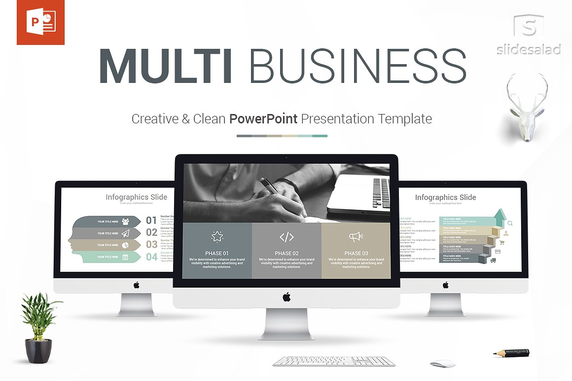 6 - Multi Business PowerPoint Template
