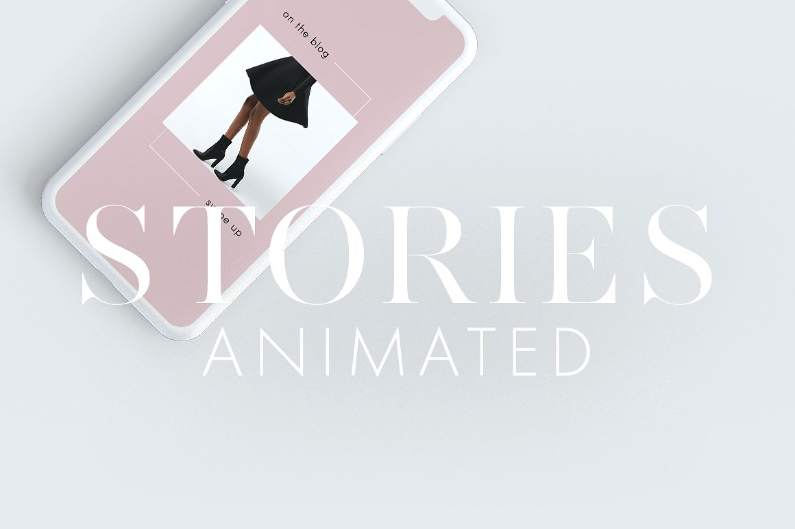 8. Animated Instagram Stories Pack