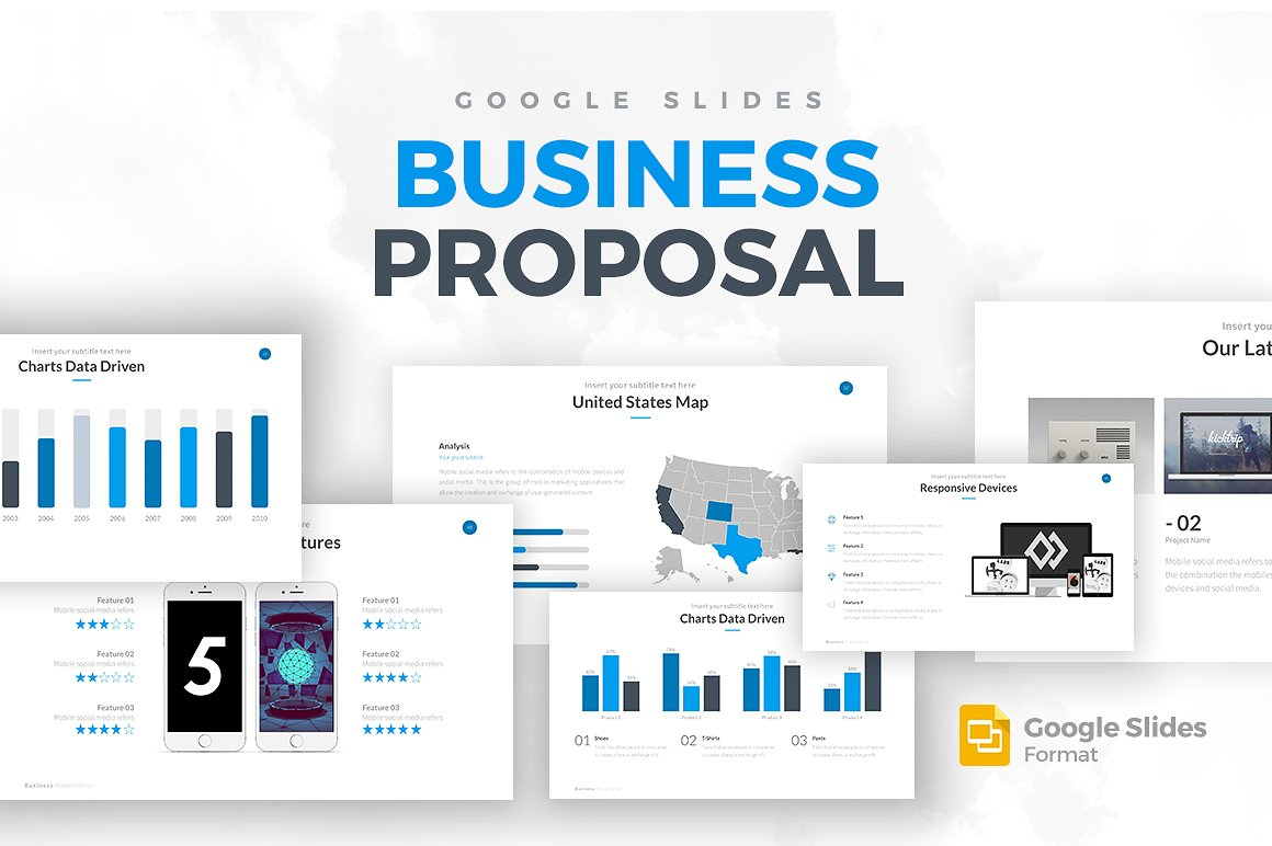 Business Proposal Google Slides Template 1