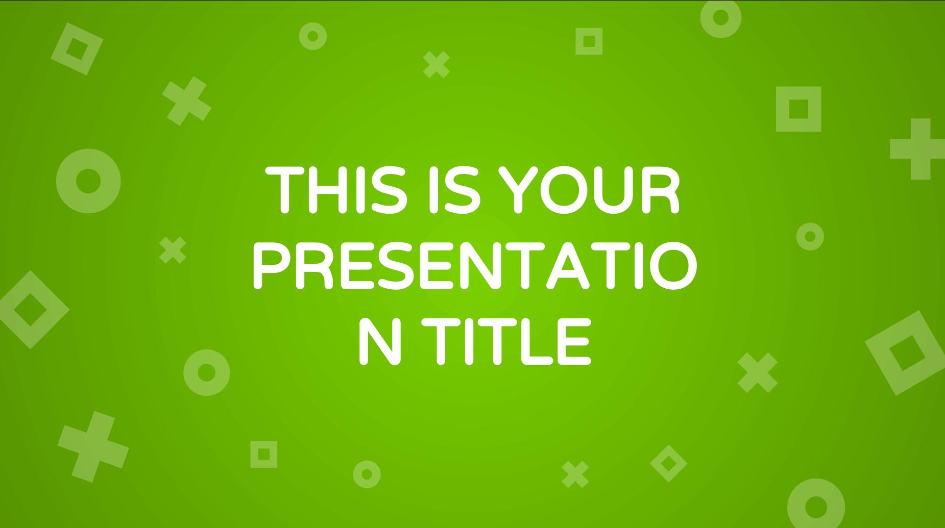 Iras Presentation Template