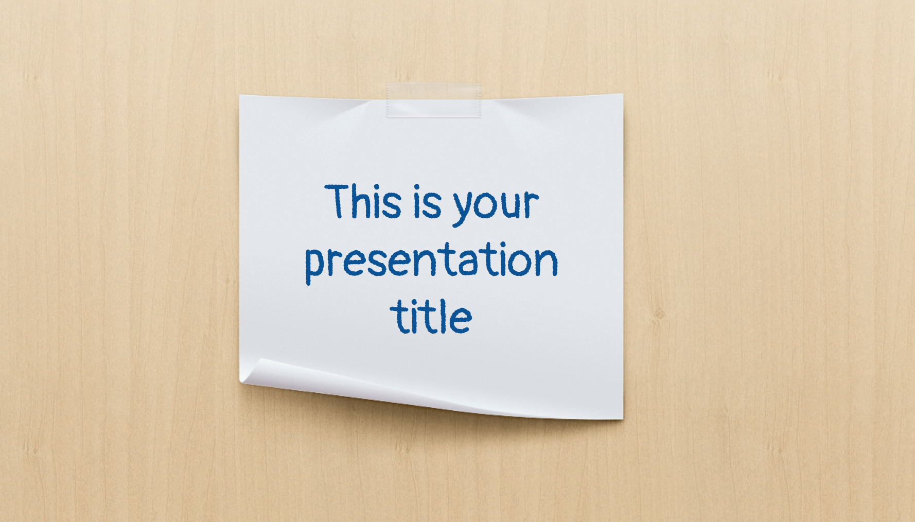 Jacques Presentation Template 1