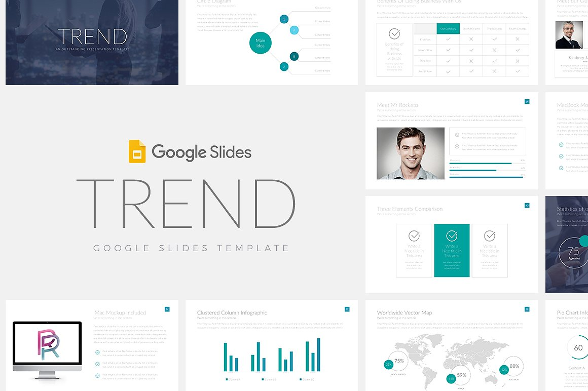 Trend Google Slides Template 1