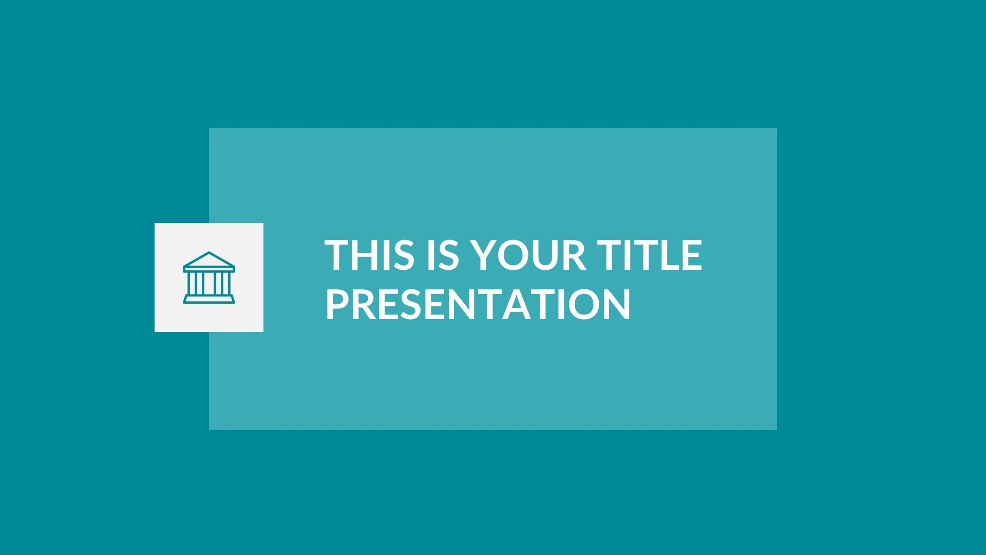 Albany Free Presentation Template