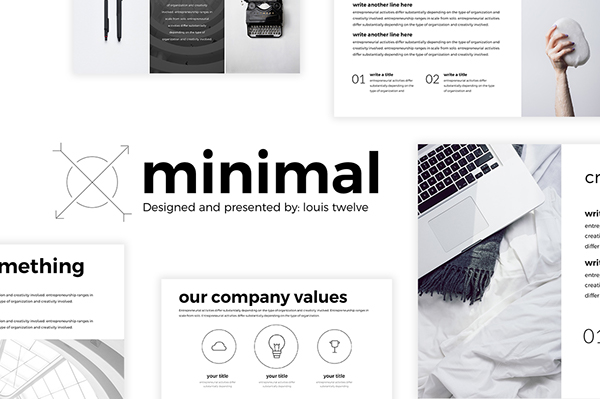 1 - Free Minimal PowerPoint Template