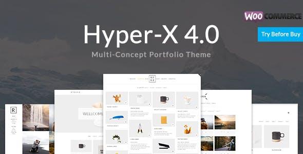 1 - HyperX - Responsive WordPress Portfolio Theme