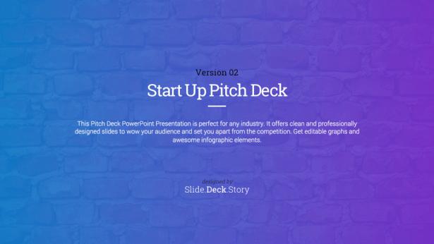 1. Pitch Deck Start Up PowerPoint