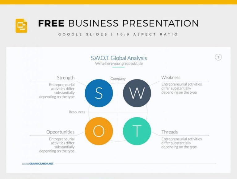 10 - Free Business Plan Google Slides Template by Louis Twelve
