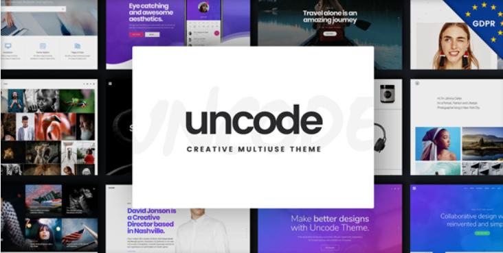 10 - Uncode Creative Multiuse WordPress Theme