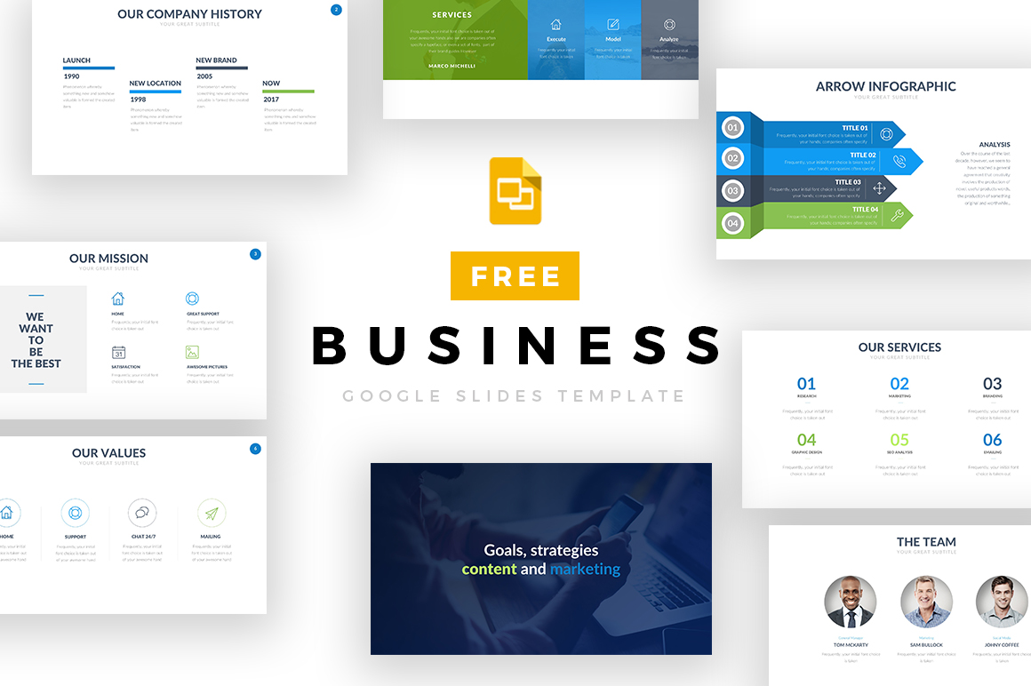 13 - Business Google Slides Template