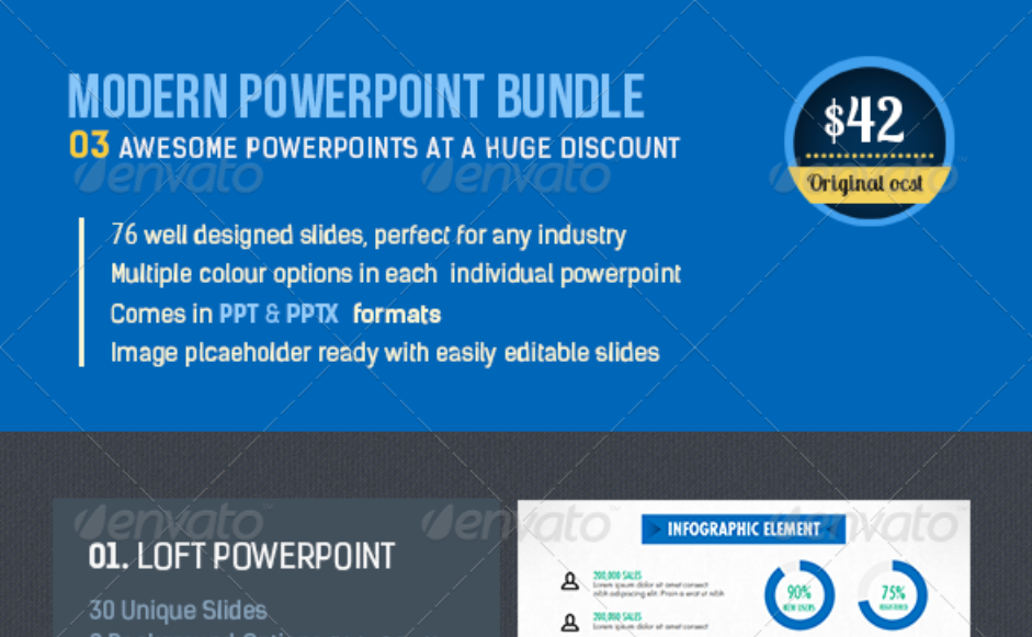 13. Modern PowerPoint Bundle