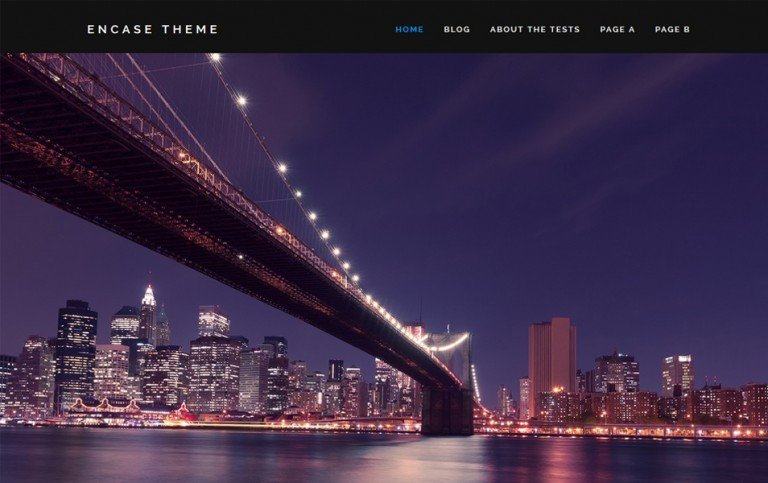 14 - Encase Responsive WordPress Theme