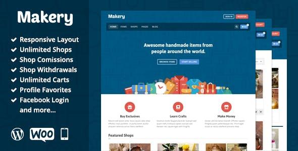 14 - Makery - Marketplace WordPress Theme