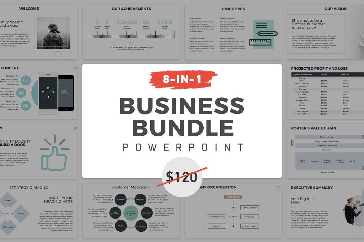 14. 8-in-1 PowerPoint Bundle