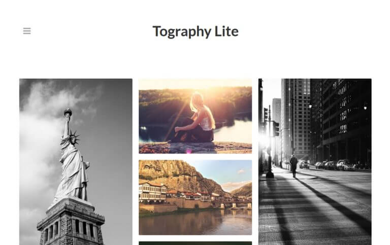 16 - Tography Lite Responsive WordPress Theme