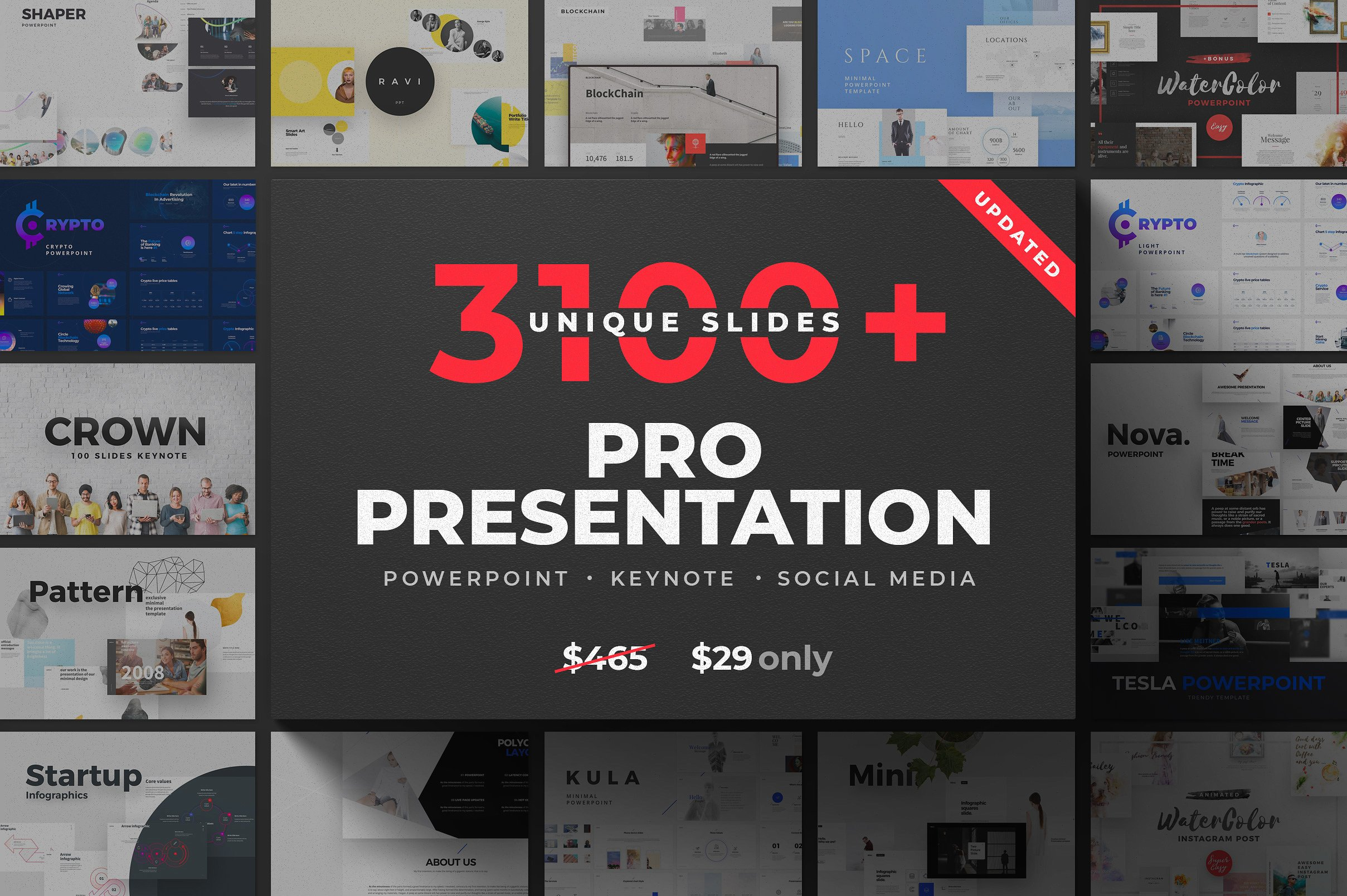16. 31-in1 Presentation Bundle