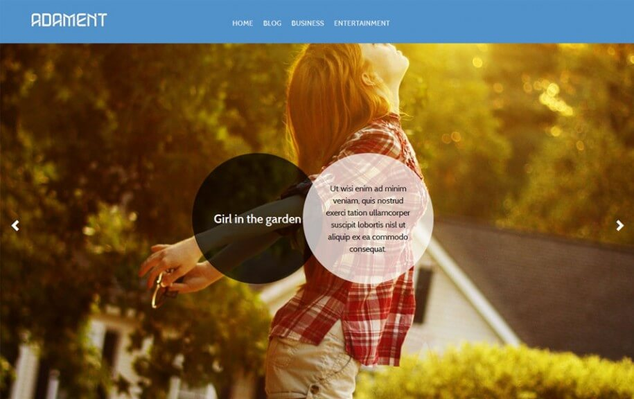 19 - Adament Free Photography WordPress Theme