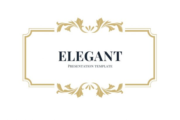2 - Elegant Google Slides Theme
